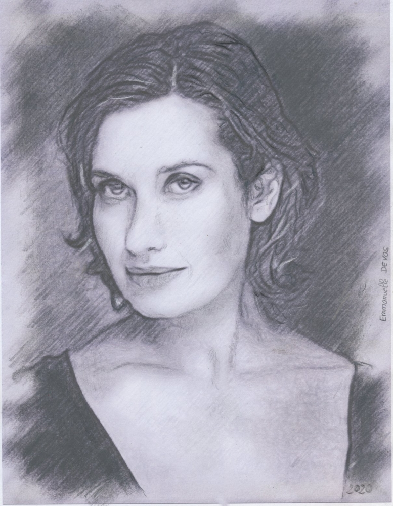 Emmanuelle Devos par baudet